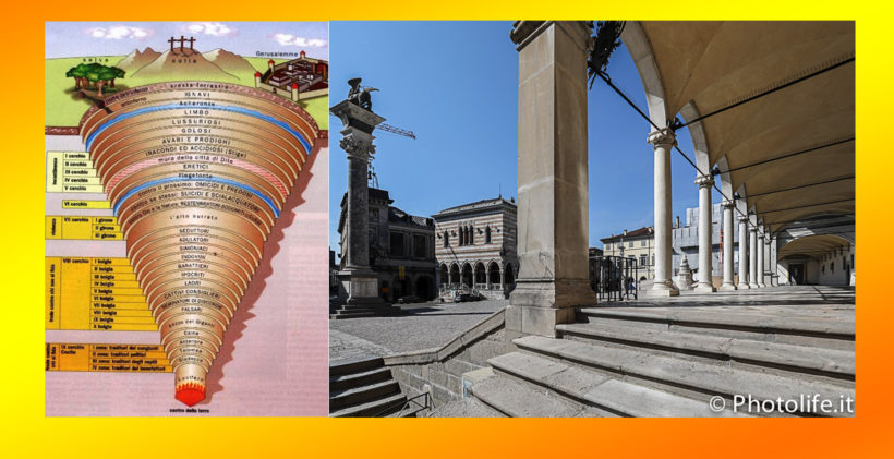 Inferno di Dante struttura-Udine