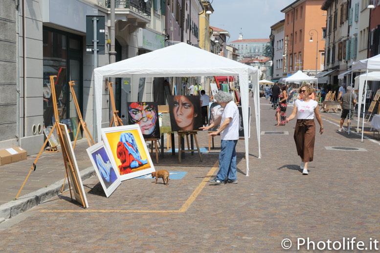 Mostra di pittori a Udine