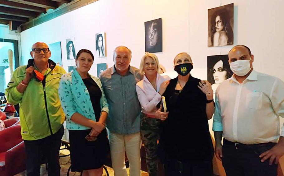 Raffaella Ferrari, Vito Sutto,Michael Pasut,Renata d'Aronco
