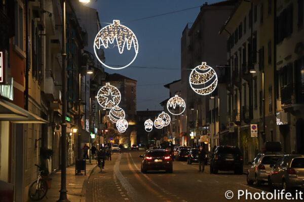 Luminarie a Udine