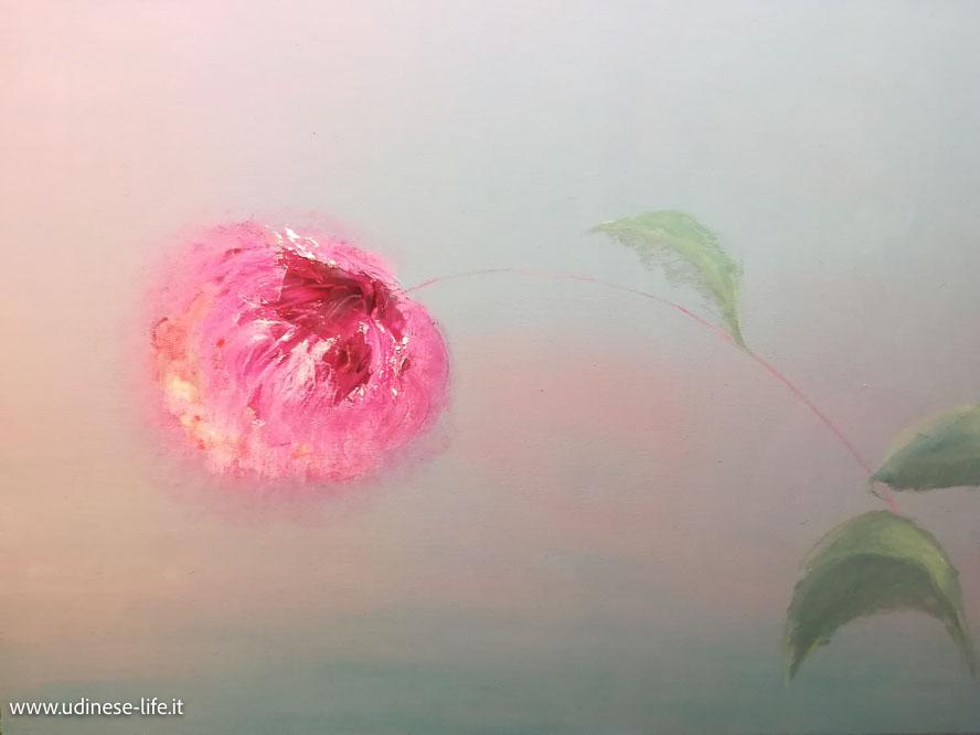 """dipinto a olio """"Vita"""" di Daniela Cantarutti."""
